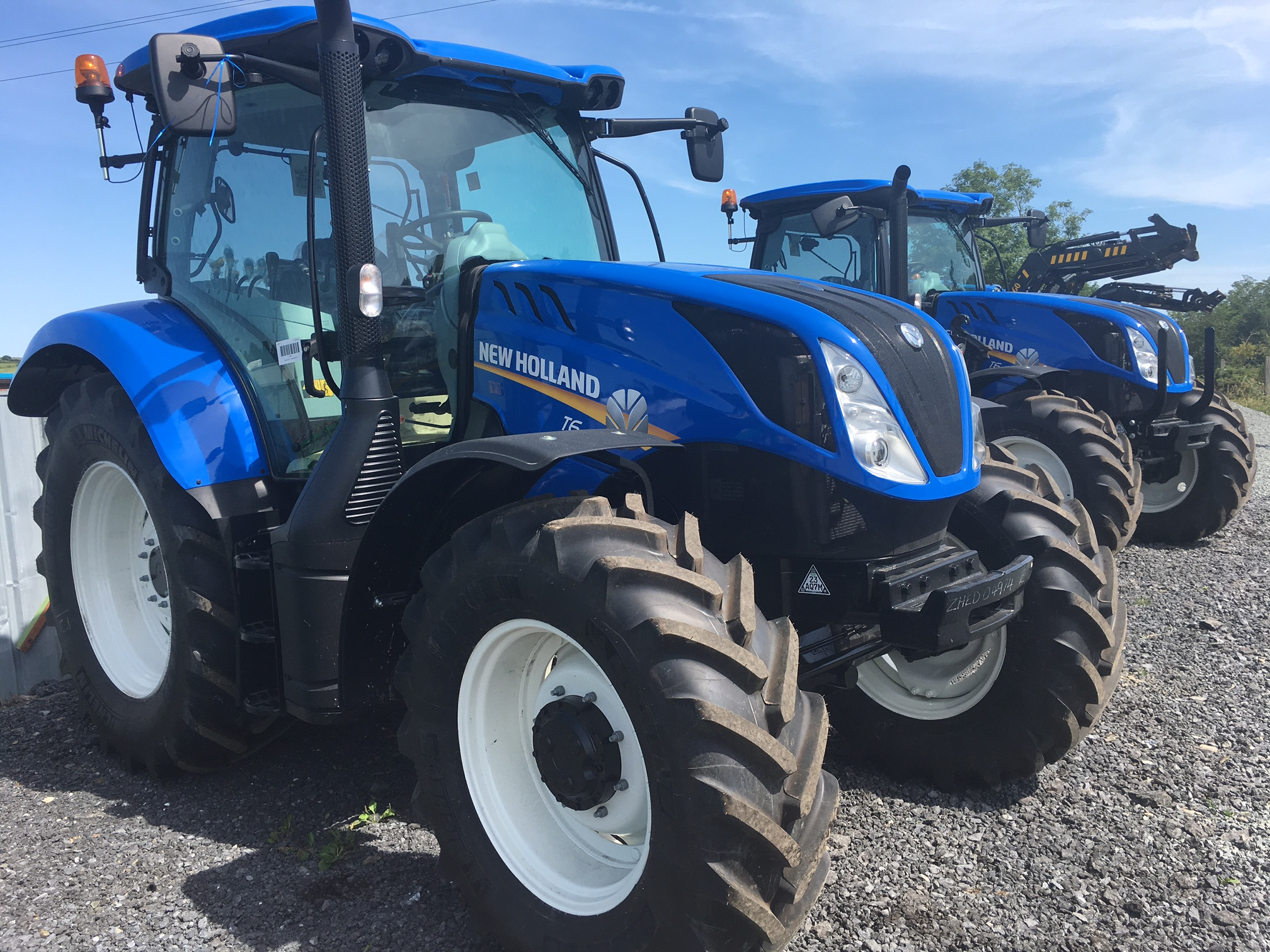 New Tractors