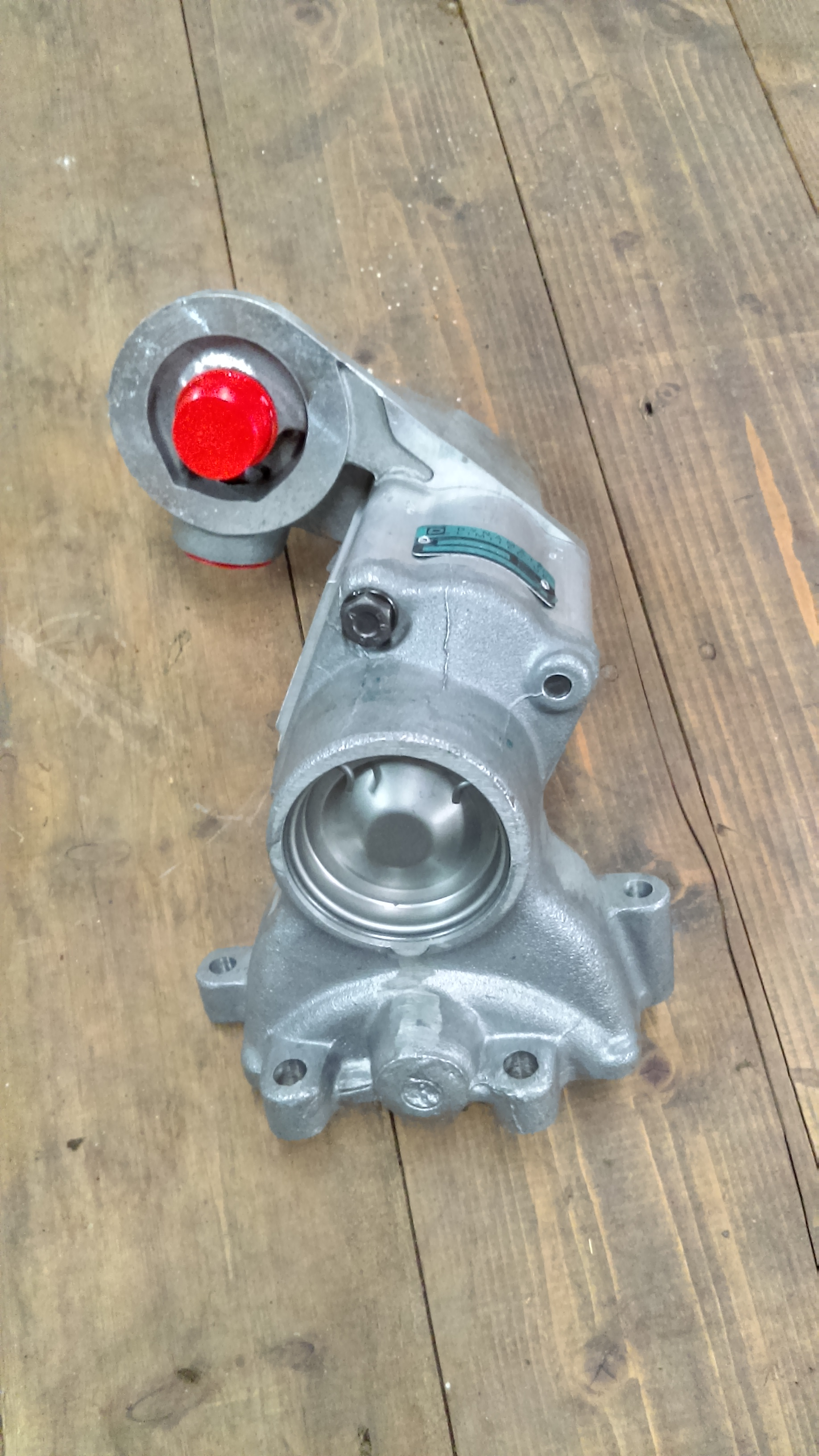Front Mounted Hydraulic Pump : Engine mounted hydraulic pump murphy s motors