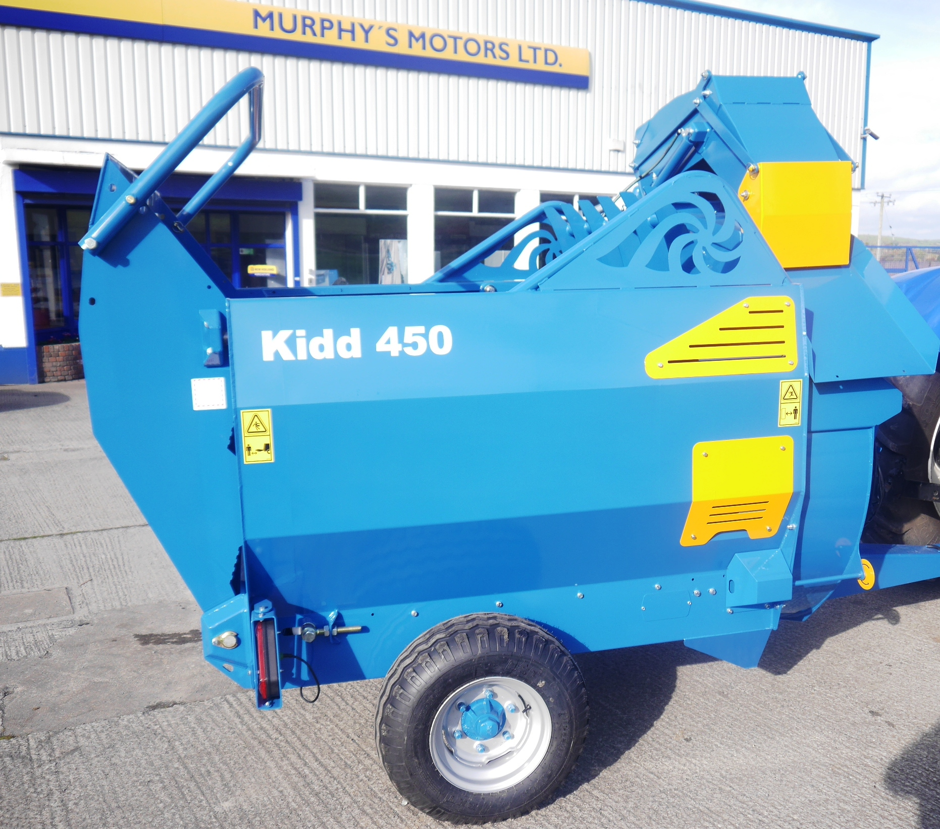 Kidd Bale Shredder