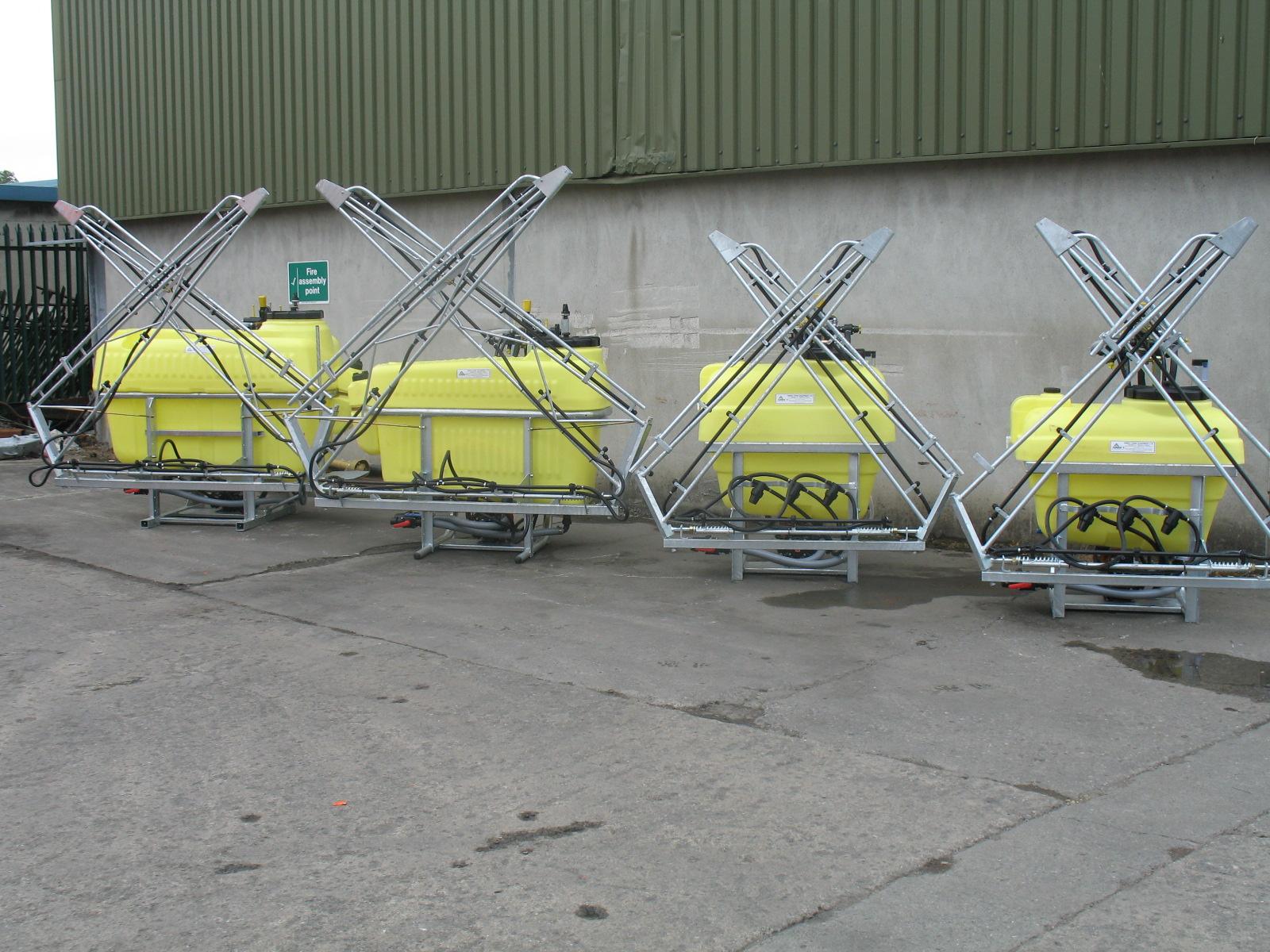 Abbey Sprayer Machinery Range