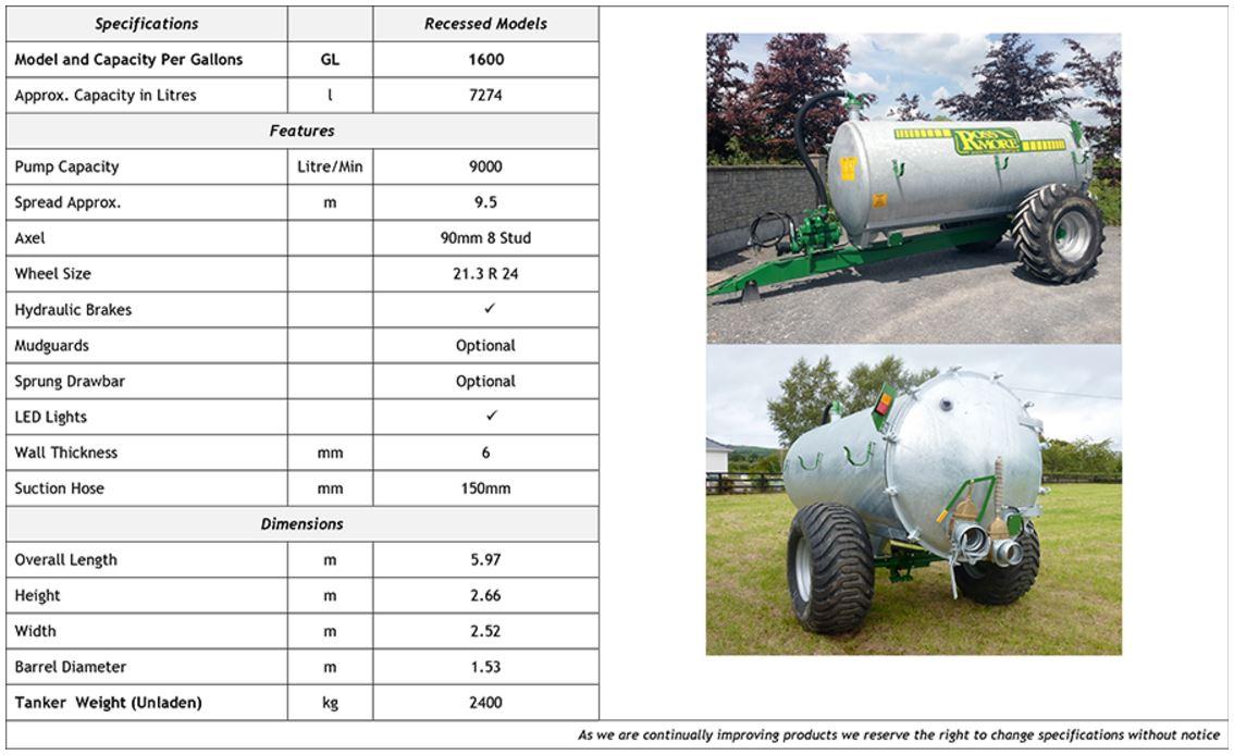 1600GL Vacuum Tankers
