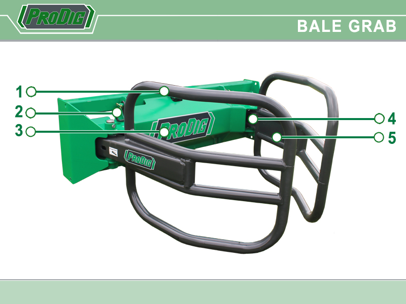 Prodig Bale Grab Features
