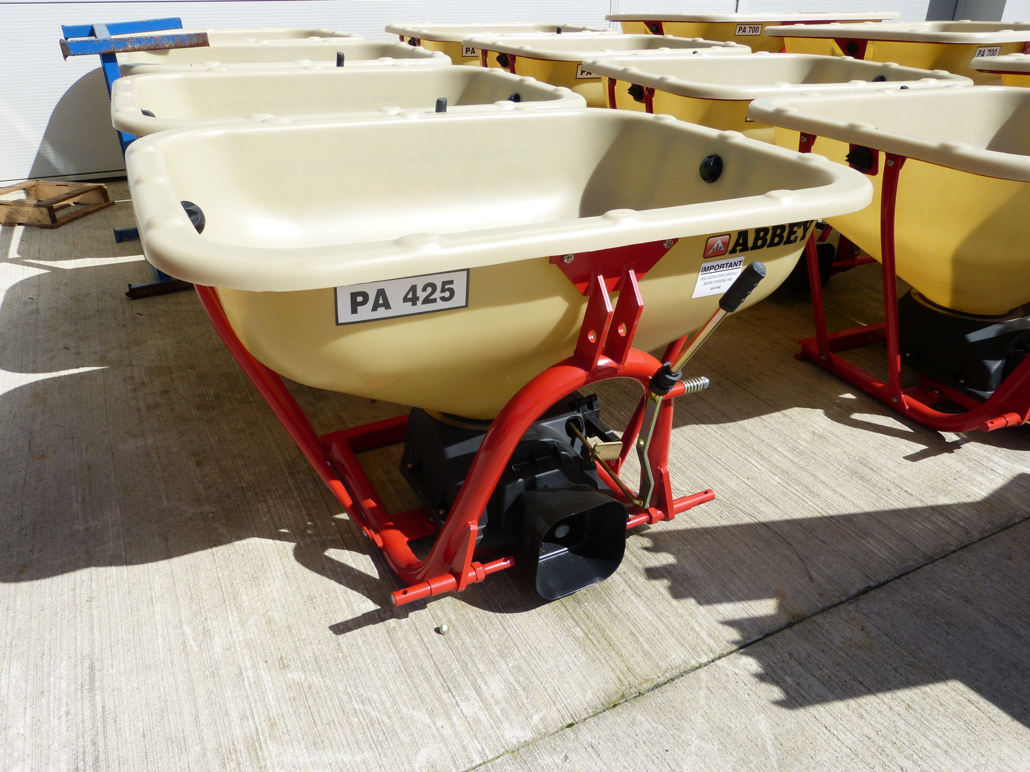 Abbey Fertiliser Applicators Disc Spreader