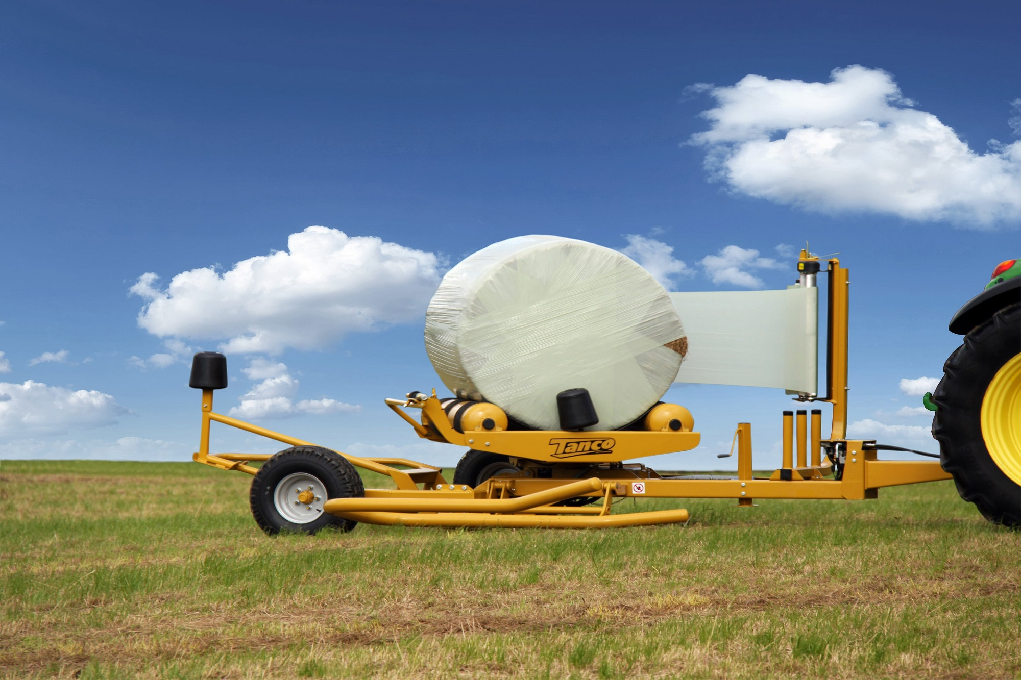 Tanco Round Bale Wrapper E Series