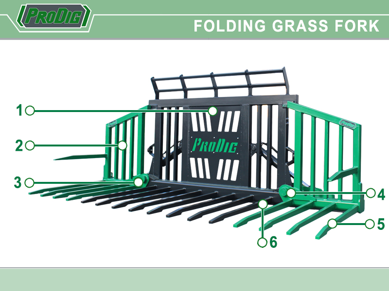 Prodig Folding Grass Fork