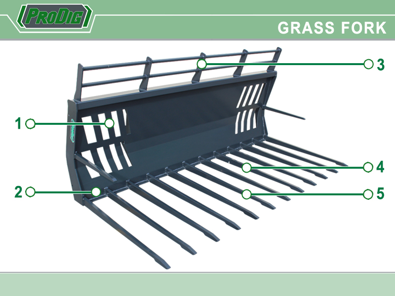 Prodig Grass Fork Features