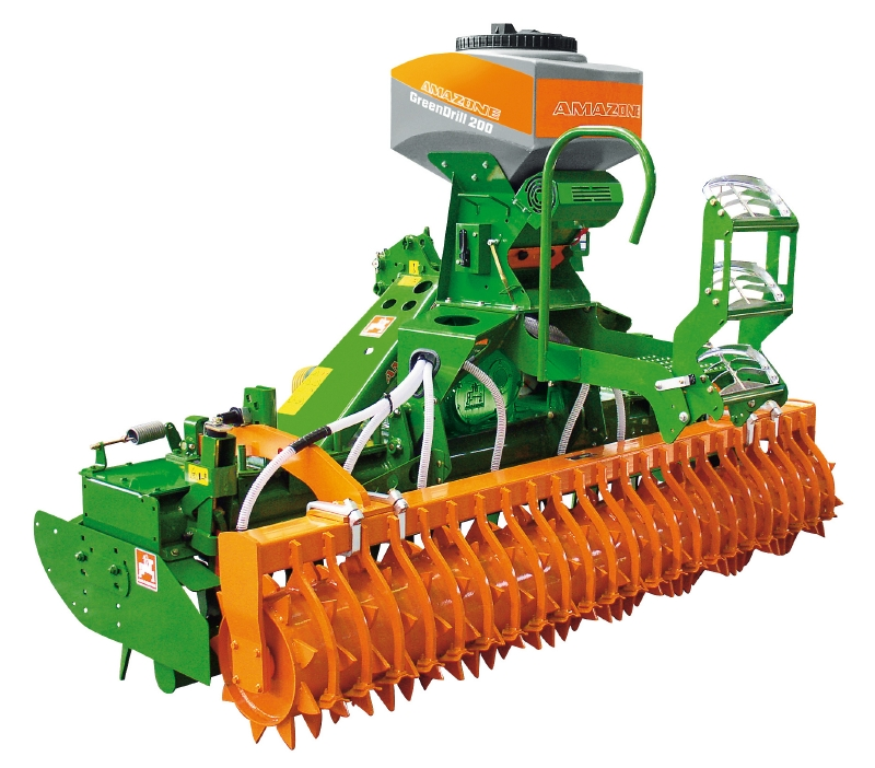 CatchCrop GreenDrill Amazone Sowing Technology