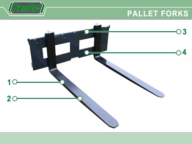 Prodig Pallet Fork Features