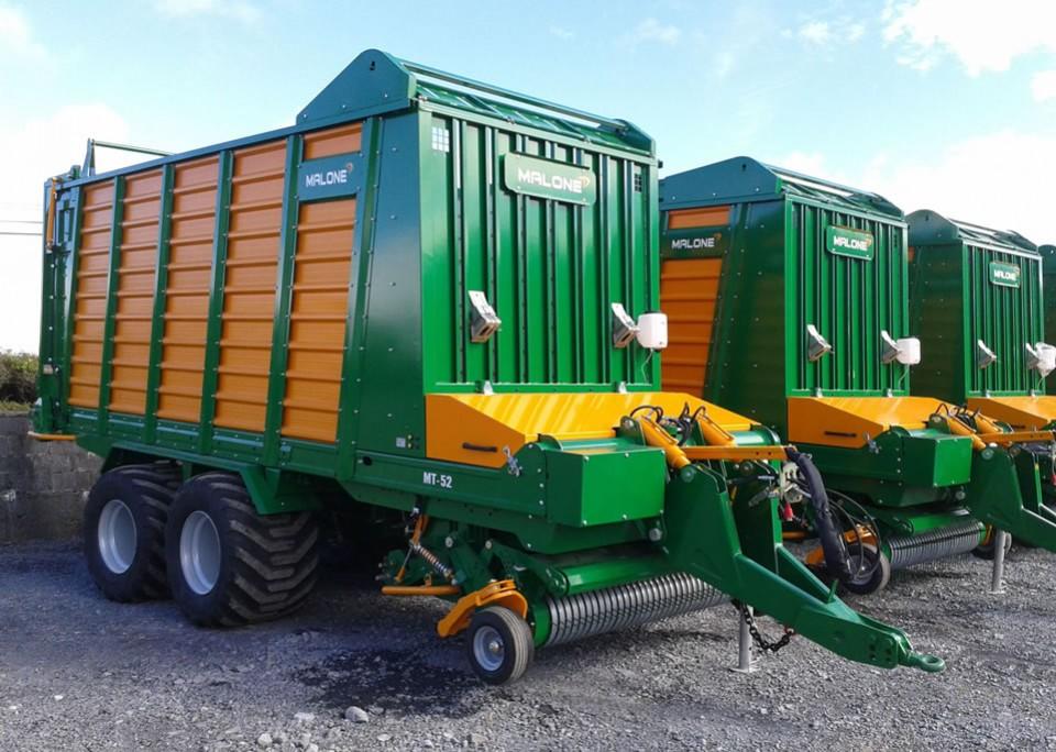 Malone Self Loading Wagons