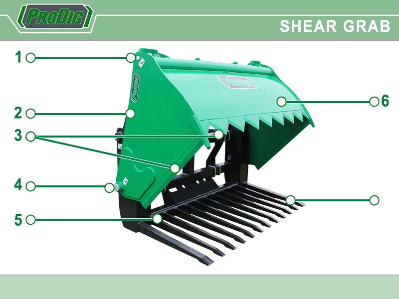 Prodig Shear Grab