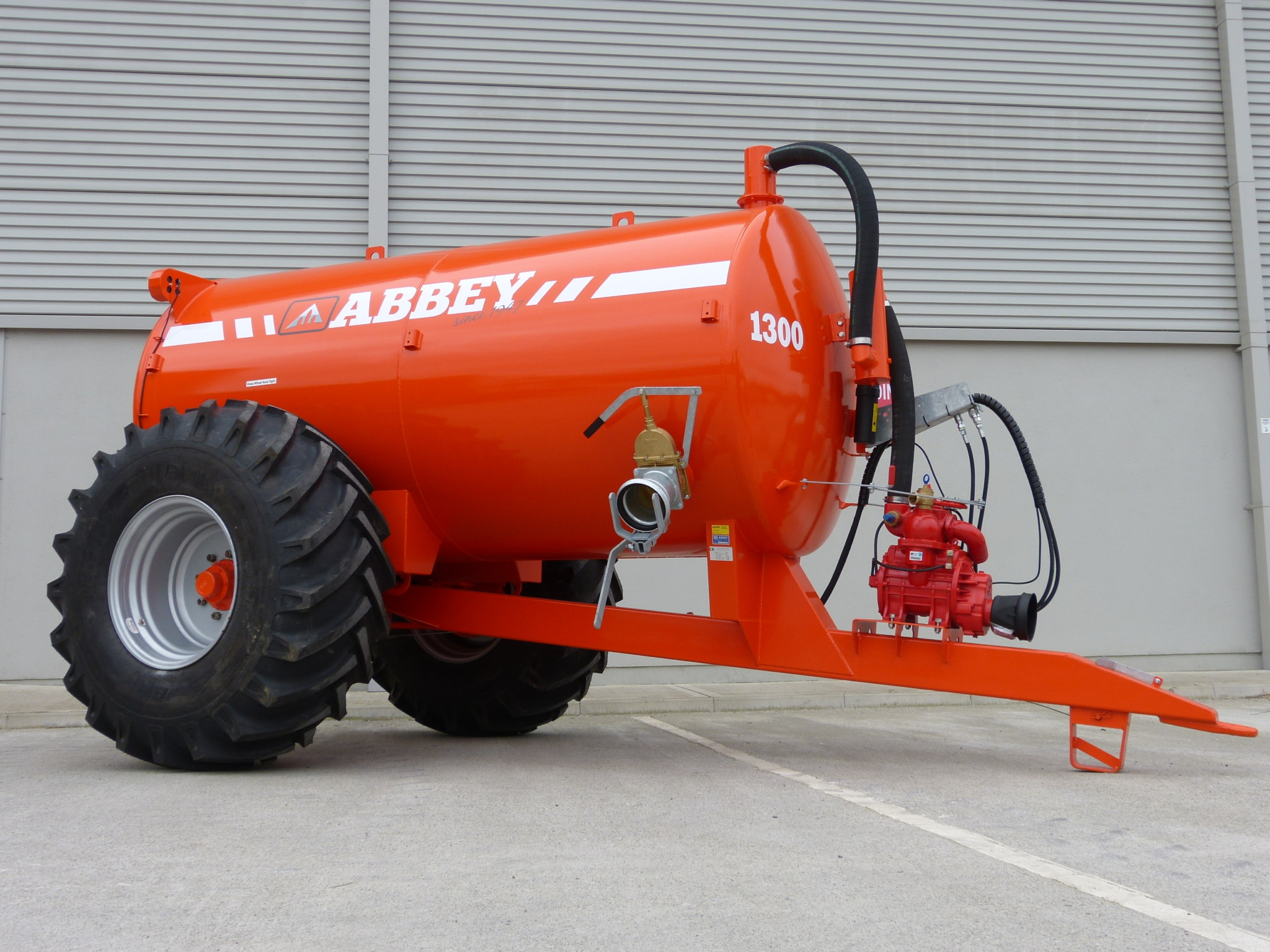 Abbey Slurry tanker Range