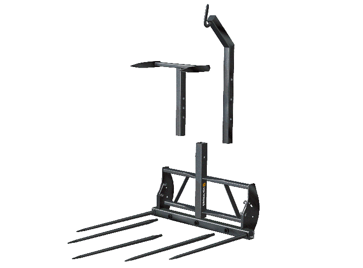 Bale Handler Square Bale Fork Safety