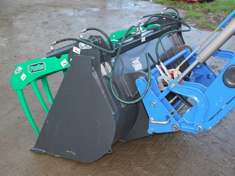 Murphys motors prodig attachments tractor grapple bucket for 2003 mercedes benz c230 kompressor reliability