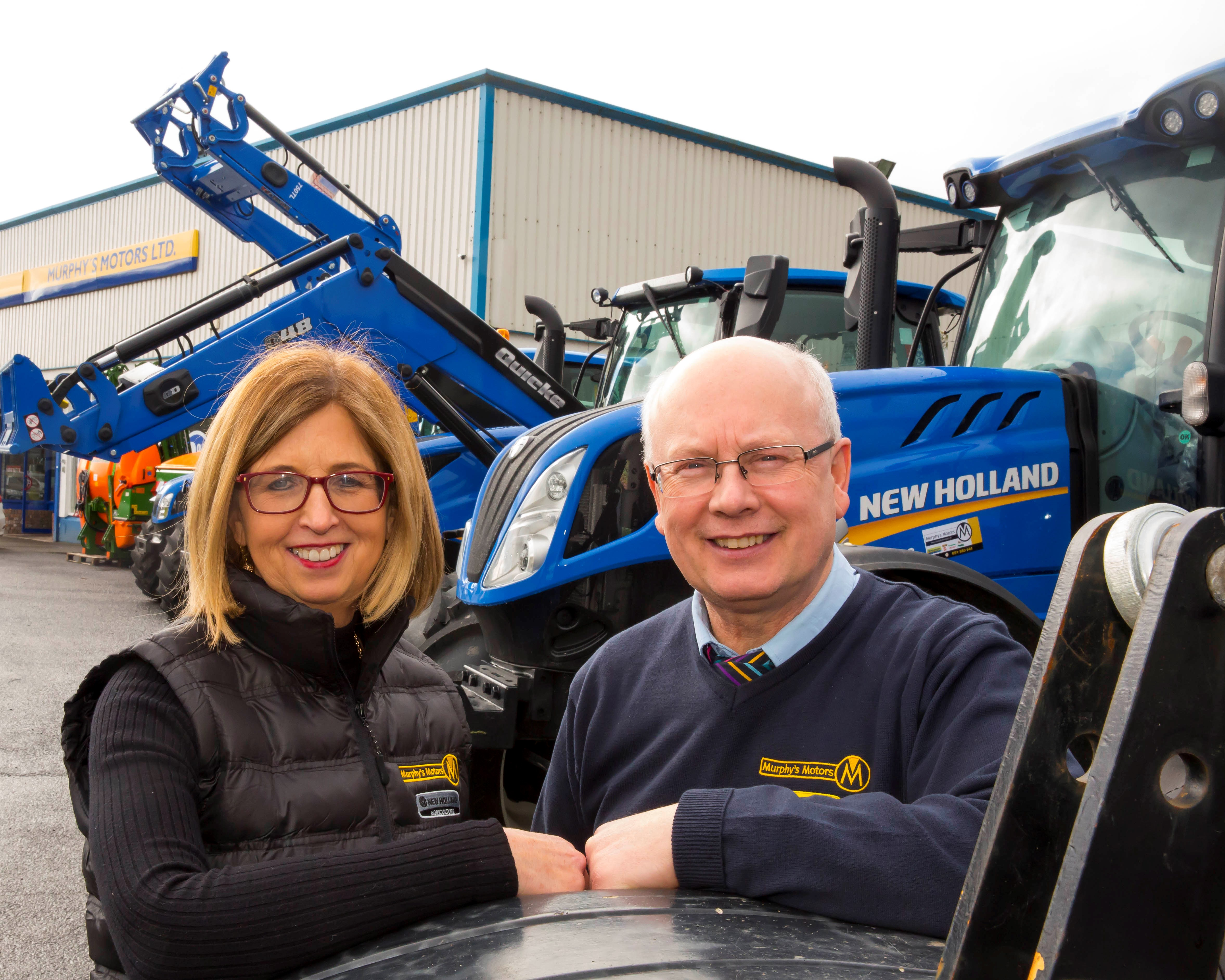 We, Dick and Bernie, are the third generation of the Murphy family to be involved in running the family business, originally established in 1960.