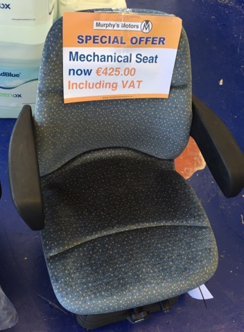 New Holland Mechanical Tractor Seat