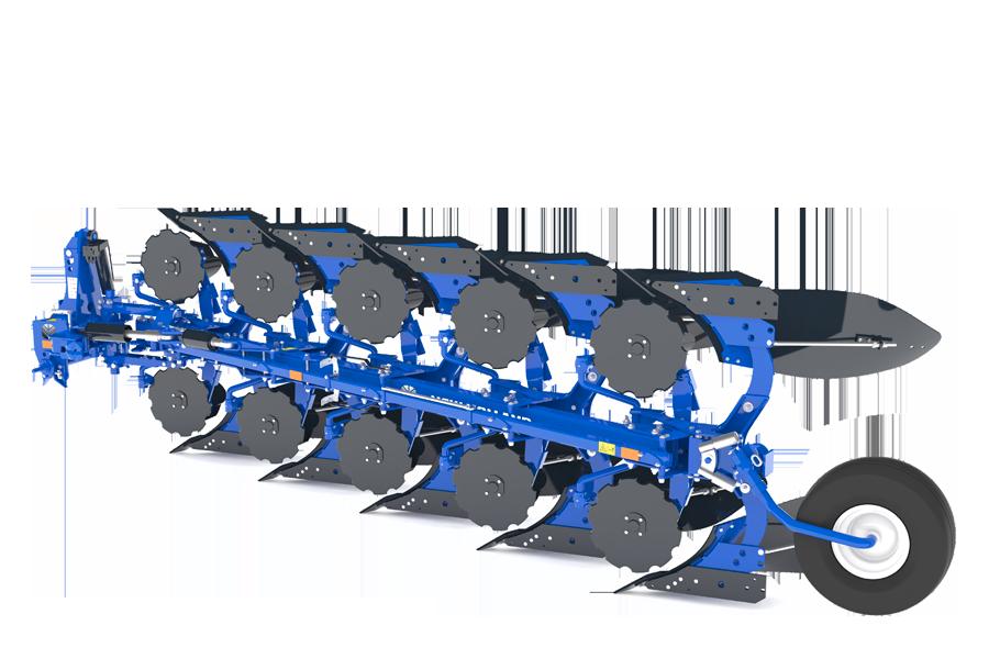Full Mounted Variable Width Reversible Plough