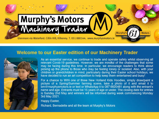 Click here to download our Easter Trader